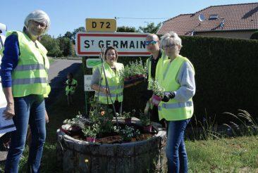 Fleurissement Saint Germain 70200